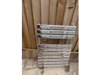 Bathroom Silver Towel Rail / Radiator