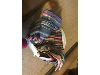 Handmade Multicoloured Cotton Rugs