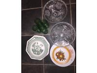 Glasses and plates pick up for free