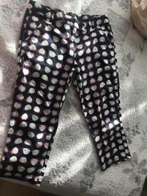 3/4 trousers from next 158 cm but size 8-10