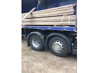 Reduced reclaimed scaffolding boards 13ft