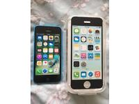 iPhone 5C 02 / Giffgaff blue Excellent condition
