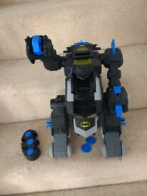 Imaginext remote batbot toy