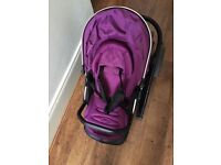 Babystyle Oyster 2 Pushchair with Grape Colour Pack