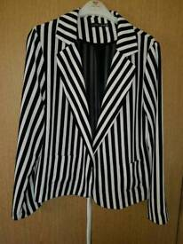 Fitted jacket womens size 14
