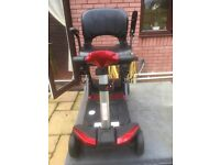 Smartie, remote control mobility scooter, red,
