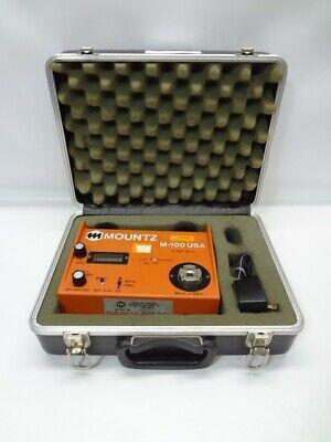 Mountz M-100 Torque Tester 0 To 100 Lbf-in Wcase