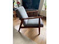 Mid Century style accent chair - Ikea