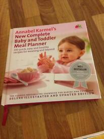Annabel kamel baby and toddler meal planner