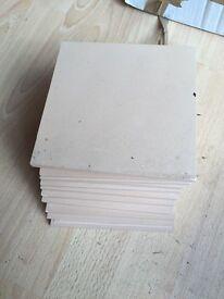 Victorian floor tiles - buff