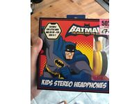 Children's batman headphones