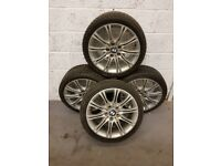 USED BMW ALLOYS WITH TYRES