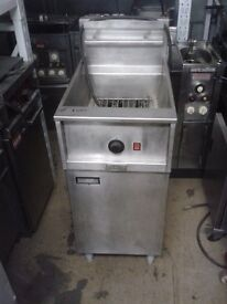 Pitco Electric Fryer SINGLE TANK Double Basket Free Standing