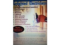 EXPERIENCED ELECTRICIAN 24/7:DOMESTIC & COMMERCIAL