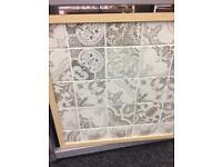 Contemporary grey tiles