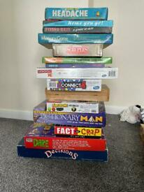 15 Board games £5 each or all for £40 most complete