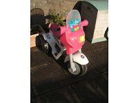 kids electric quad/ trike bike