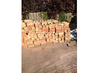 800/1000LBC Bricks 20p each or all £150 could dell roadside for a small fee