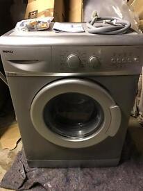 Beko Slimline Washing Machine - silver