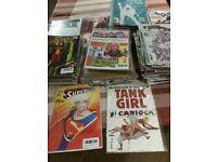 385 (360 brand new) modern comics - DC, Marvel, indie etc