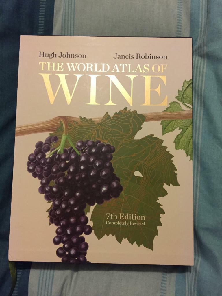 World Atlas of Wine hardback book