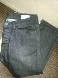 Men's Slim Jeans Black