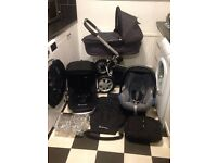 ***EX COND ***QUINNY BUZZ Full Travel System ++ CARRYCOT ++ MAXI COSI CAR SEAT + XL SEAT + EXTRAS