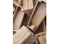 ALL HANDMADE LOG STORES PLANTERS BIRD TABLES STORAGE ANYTHING etc.. LOOK CHEAPEST AROUND