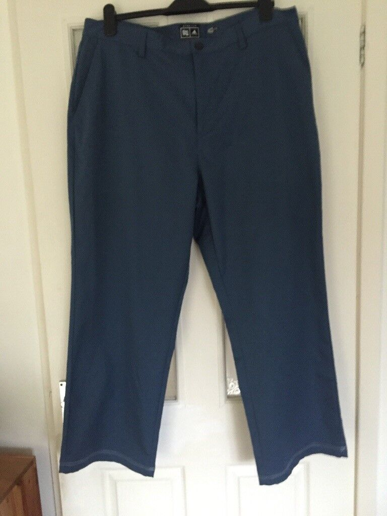 Men's Adidas Climalite golf trousers