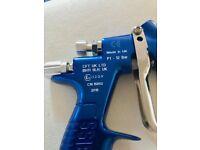 DEVILBISS PRO LITE GRAVITY GUN GTE20 12,13 BLUE