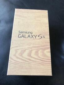 Samsung Galaxy S4 (16GB) Mobile Phone, Unlocked, Sealed, Boxed