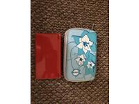 Nintendo ds lite with a cover