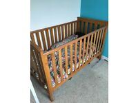 Free cot bed with or without mattress