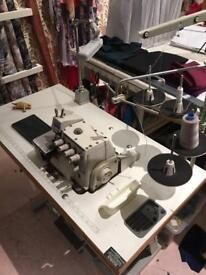 overlocker sewing machine.