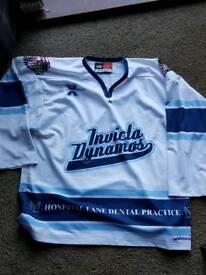 Invicta Dynamos ice Hockey jersey shirt