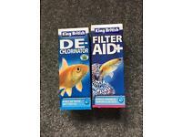 Fish tank water treatment