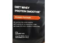 Protein Works protein smoothie