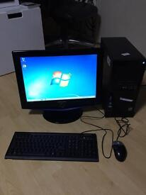 "Hp Pro computer for sale with Sony 19"" monitor"