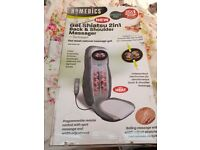 Homedics back ,neck & shoulder massage chair