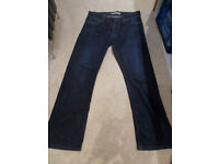 Mens Levi 506 Regular Jeans 32W 30L