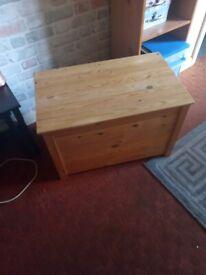 Solid pine storage/toy box