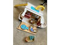 Sylvanian Families Seaside Cruiser House Boat with furniture, figures + extra clothes