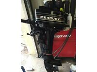 Mercury 4hp outboard with reverse
