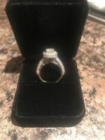 18ct white gold 2 Carat diamond. Was 10k selling for 5k.