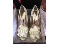 Moda in pelle bridal shoes