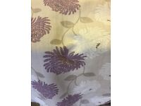 John Lewis curtain fabric - John Lewis chrysanthe fabric by Maggie Levien in cassis colour rrp £35pm