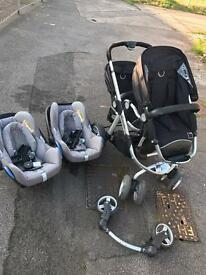 Icandy Double travel system