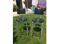 Ikea stools x2 £8 for the pair