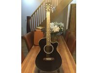 Brunswick BTK50BK Electro Acoustic Guitar as new