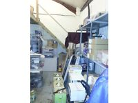 WAREHOUSE/STORAGE/LIGHT INDUSTRIAL/COMMERCIAL UNIT/BusinessRATES INCLUDED/17 ft HEIGHT/NEAR A40,A312